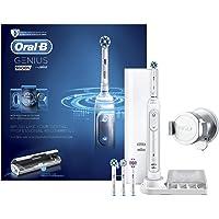 Oral-B Genius 9000N - Cepillo de Dientes Eléctrico, Tecnología Braun, blanco