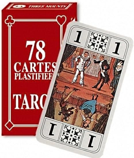 Jeu De Tarot 78 Cartes A Jouer Avec Notice Amazon Ca Jeux Et Jouets