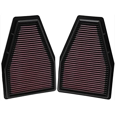 K&N Engine Air Filter: High Performance, Premium, Washable, Replacement Filter: 2012-2016 PORSCHE (911, 911 Carrera, 911 GT3), 33-2484: Automotive