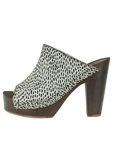 Maruti Damen Plateau-Pantolette WYONA HAIRON Leather