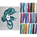 """Shimmery 42"""" Multiple Solid Colors Flat Shoelaces for Teams Cheer Dance Gifts Sneakers Accessories"""