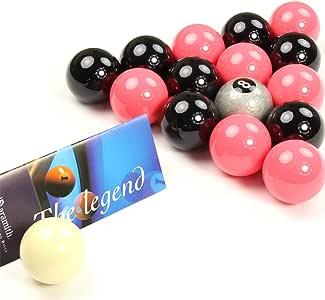 EXCLUSIVA! Aramith Premier SILVER 8 BALL edición rosado y negro ...