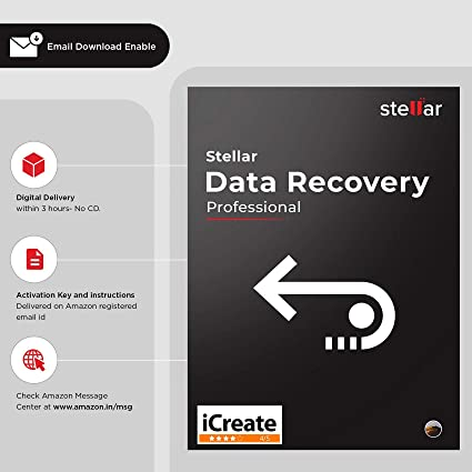 Stellar Data Recovery Software for Mac Professional - 1 PC, 1 Yr |Email Delivery in 3 Hours - No CD|Download|Genuine Licence: Amazon.in: Software