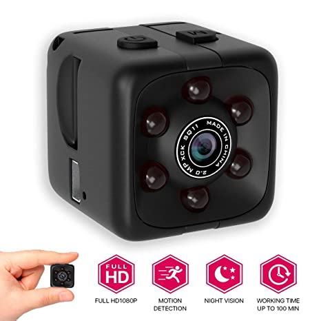 Newest 2018 Upgraded Hidden Spy Camera 1080p Home Mini Fullhd Small Advanced Security
