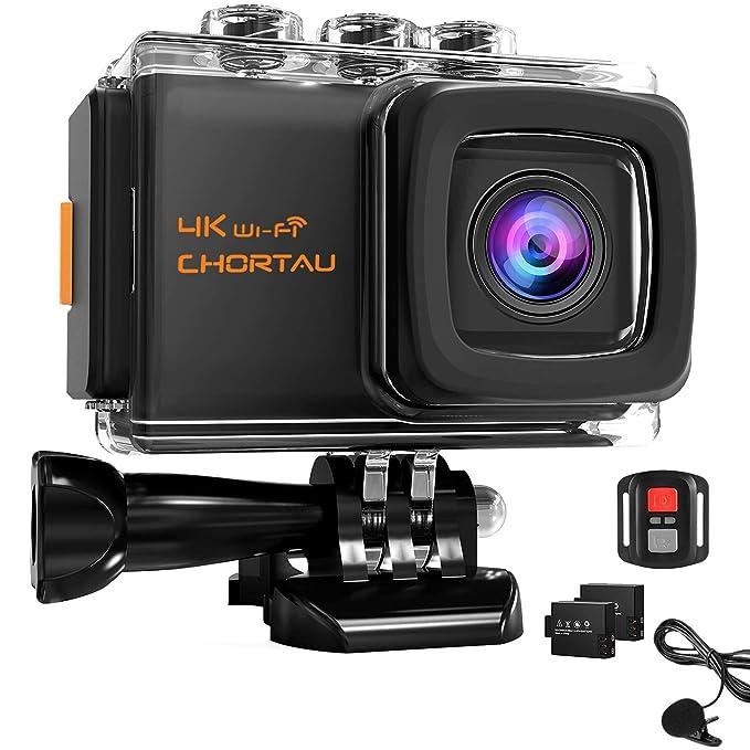 111 opinioni per 【2019 Nuova Versione】CHORTAU Action Cam 4K 20M WiFi Sensore Sony impermeabile