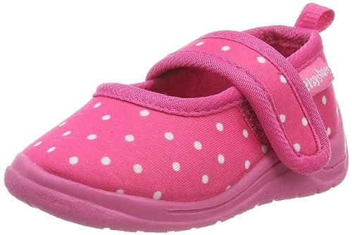 Playshoes Punkte, Zapatillas de Estar por casa para Niñas: Amazon.es: Zapatos y complementos
