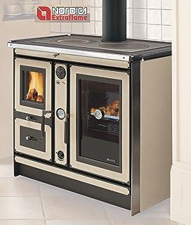 Termocucina cucina a legna KW 8,8 Helena Rustic Anselmo Cola ...