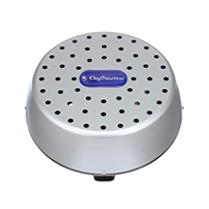 Caframo Limited 9406CAABX Stor-Dry 9406 Dehumidifier, Warm Air Circulator Fan Small Metallic