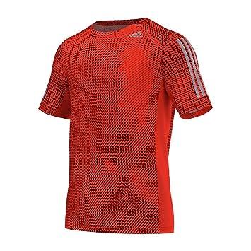 adidas cool365 T-Shirt Kurzärmelig XS Naranja/Negro