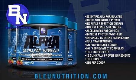 Alpha Ultra Pre Workout Fruit Punch