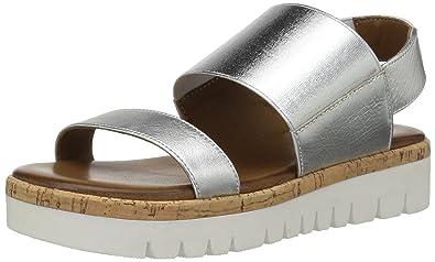 f41ef8bf930 ALDO Women s Toni Platform Sandal Silver 6.5 ...