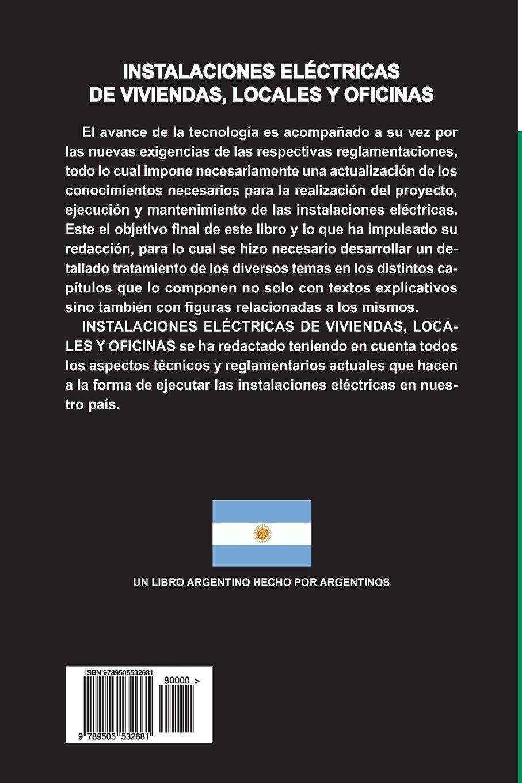 Instalaciones electricas de viviendas, locales y oficinas: Amazon.es: Alberto Luis Farina: Libros