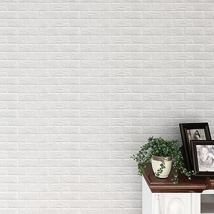 amuster nouveau pe mousse 3d papier peint bricolage stickers muraux dcoration murale en relief brique pierre