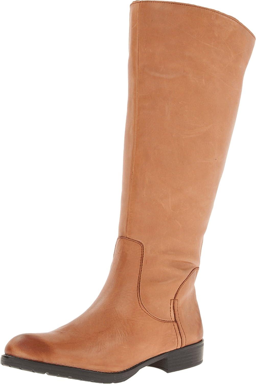 Trooper-Wide Calf Boot, Camel
