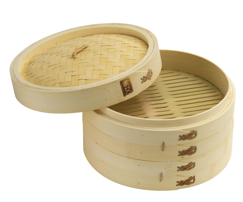 Bamboo Steamer Set 10-inch Joyce Chen 26-0013