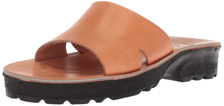 Jerusalem Sandals Women's Bashan Molded Footbed Slide Sandal B075KVHJ13 41 Medium EU (10-10.5 US)|Tan