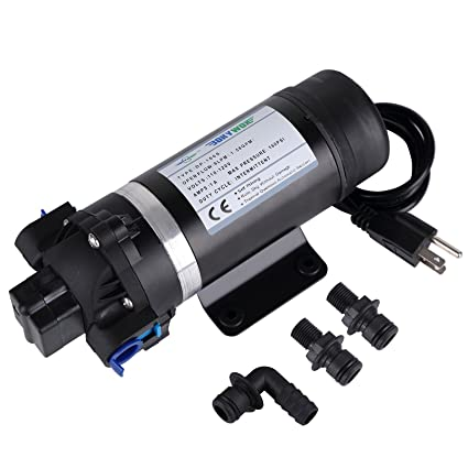 Amazon self priming water pressure pump bokywox 160psi 75l self priming water pressure pump bokywox 160psi 75lmin diaphragm water pump for ccuart Images