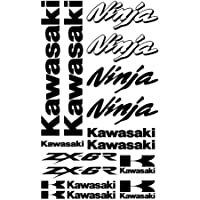 ALOBA kit pegatinas Vinilo para kawasaki ZXR NINJA, vinilo de corte con papel transportador,