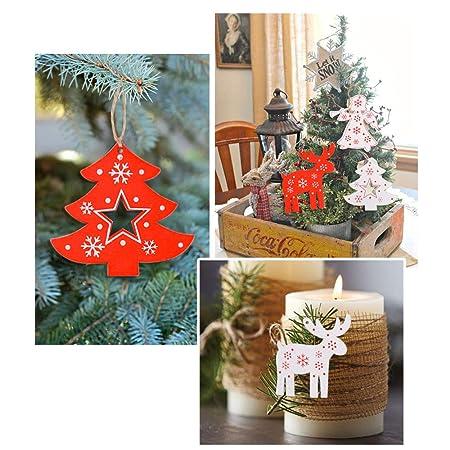 Sapin de Noël Bijoux Ange 6 pièces par 4 cm en verre de Noël