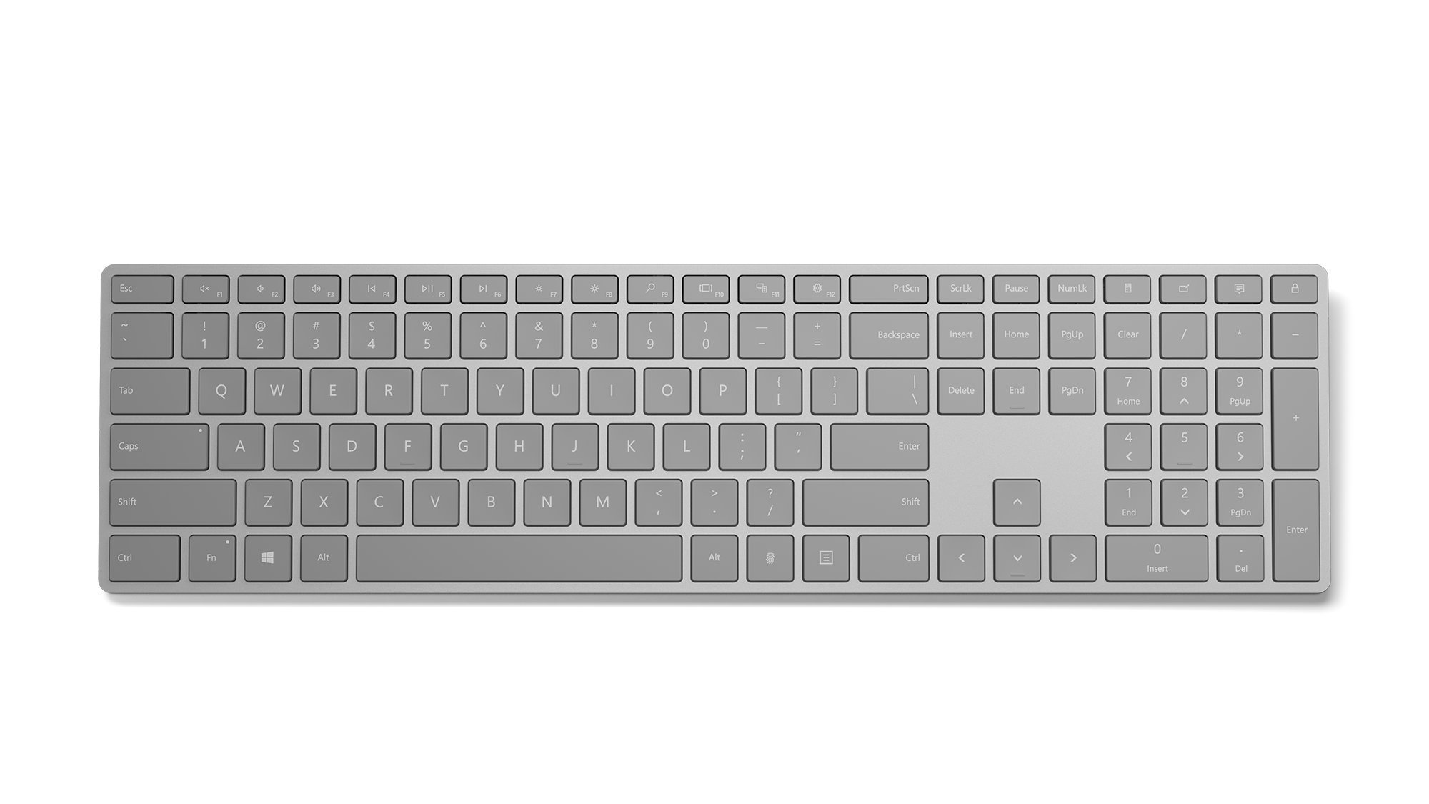 Microsoft Modern Keyboard with Fingerprint ID by Microsoft