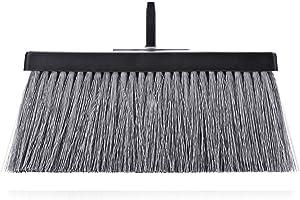 Fuller Brush Black Deep Reach Slender Broom Head - Commercial Wet & Dry Floor Sweeper for Sweeping Dust & Cleaning Ceramic Tile, Linoleum, Vinyl, Wood Laminate & Hardwood Floors