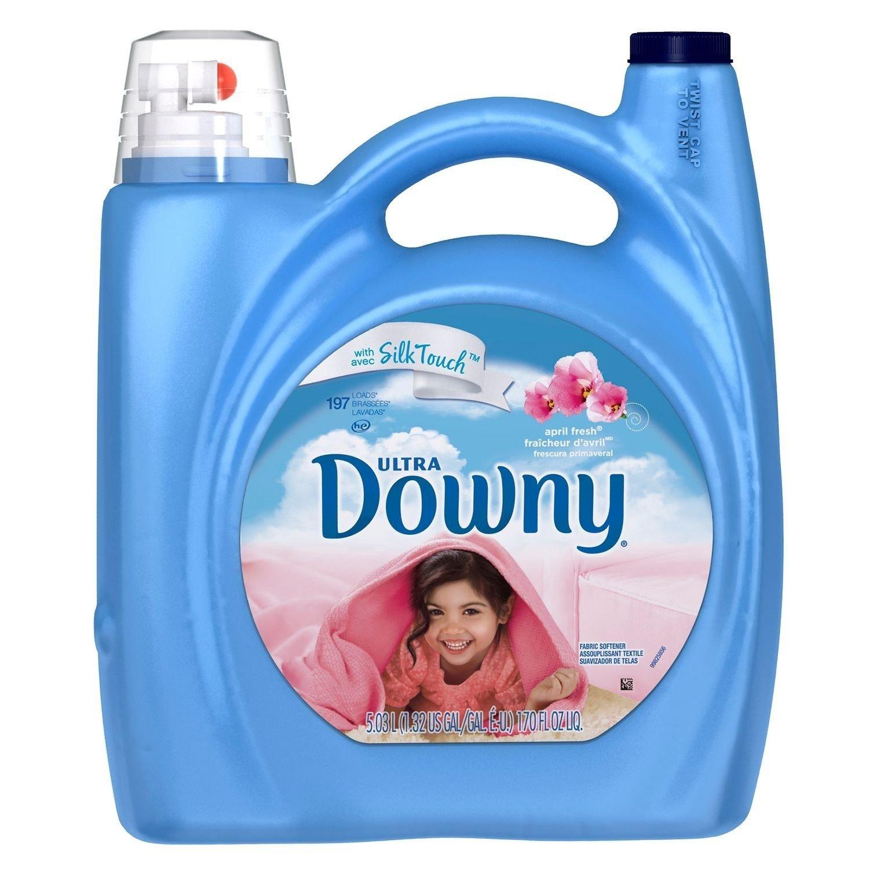 DownyウルトラApril Fresh柔軟剤、170オンス – 197荷重 B00MTB7X76  170 fl oz