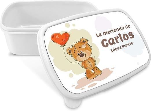 Caja de Merienda Cumpleaños Personalizada con Nombre/Curso. Vuelta ...