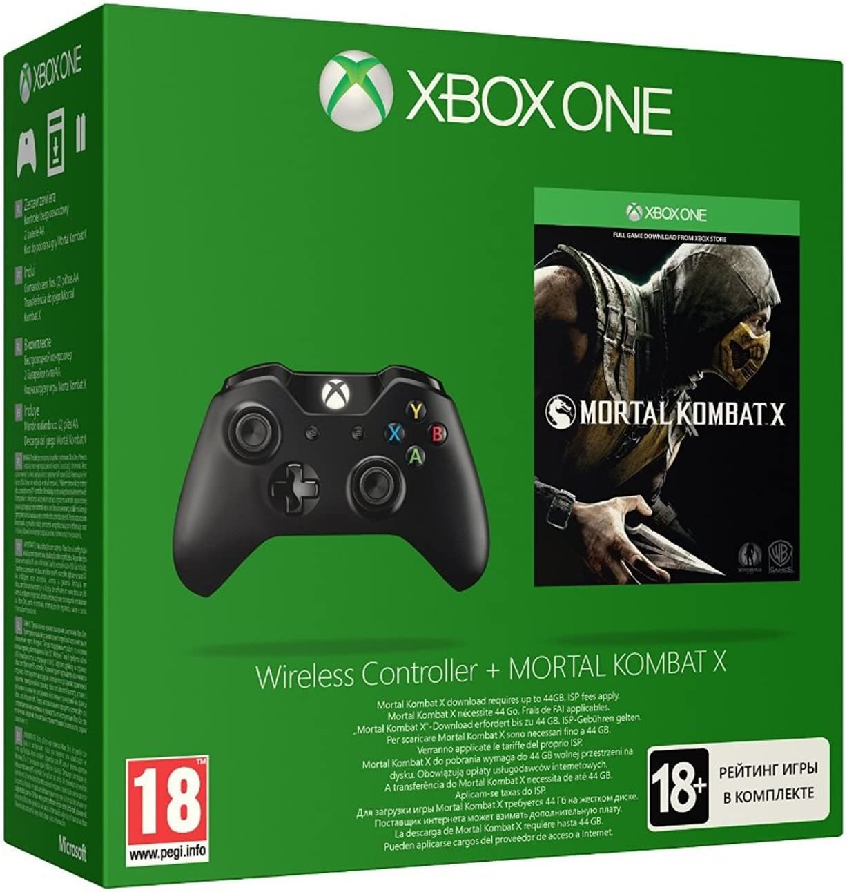 Mortal Kombat X + Mando Wireless: Amazon.es: Videojuegos