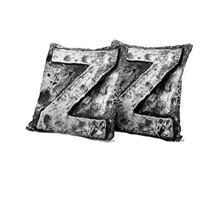 Amazon Stool Cushion Cover Letter ZCapital Z Name