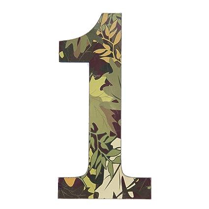 Amazon Com 11 Tall Mossy Oak Designer Camo Wall Number 1