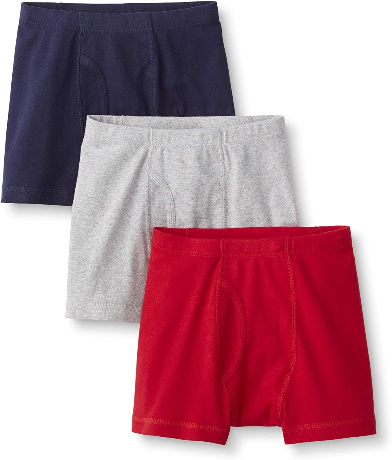 3-Pack Hanna Andersson Boys Boxer Briefs in Organic Cotton