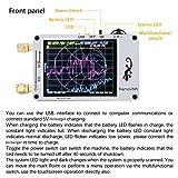 Vector Network Analyzer, KKmoon Mini Vector Network Analyzer 50KHz-900MHz 2.8 Inch Digital LCD Display Touching Screen HF VHF UHF Antenna Analyzer Standing Wave Measuring Instrument