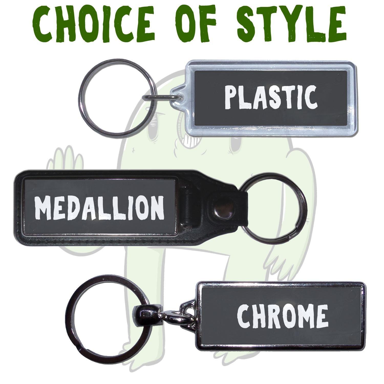 Metal UK Number Plate Key RingChoose Medallion BEST DAD Plastic