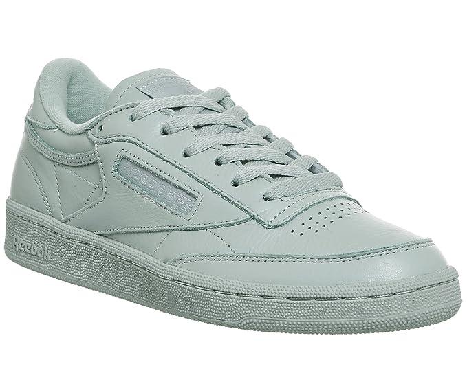 88d056aa7a1a55 Amazon.com  Reebok Club C 85 Elm Girls Sneakers Green  Clothing