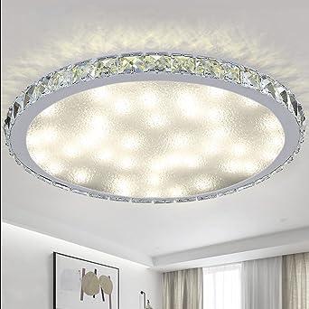 48W Dimmbar LED Deckenleuchte Büro Badleuchte Wohnzimmer Küche Deckenlampe IP44