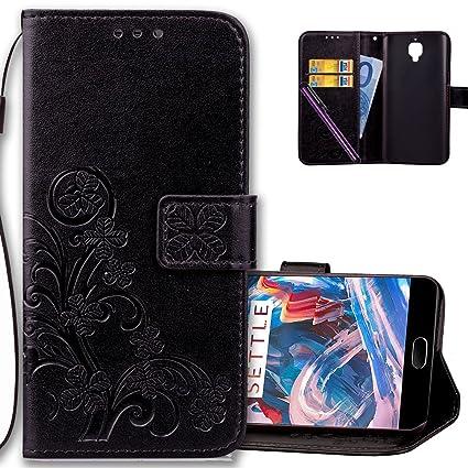 new product aa33c ee80b Amazon.com: OnePlus 3 Wallet Case Leather COTDINFORCA Premium PU ...
