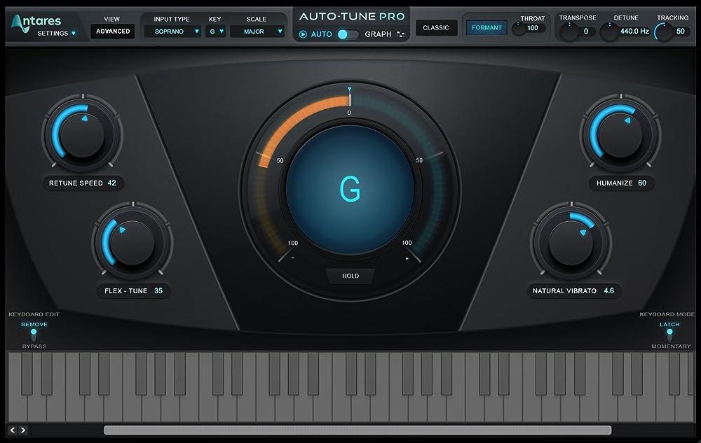 Auto-Tune Pro:ピッチ調節