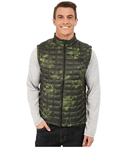17f2ac01a The North Face Men's Thermoball Vest, Spruce Green Floral Camo Print ...