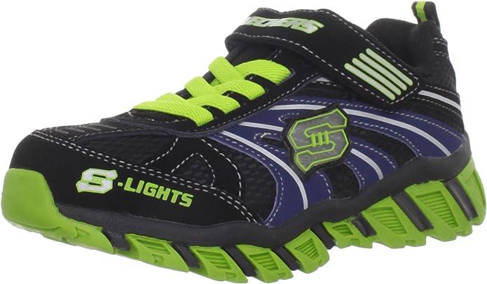 skechers Pillar - IGNUS - Zapatillas de Deporte para niño, Color Negro, Talla 28.5: Amazon.es: Zapatos y complementos