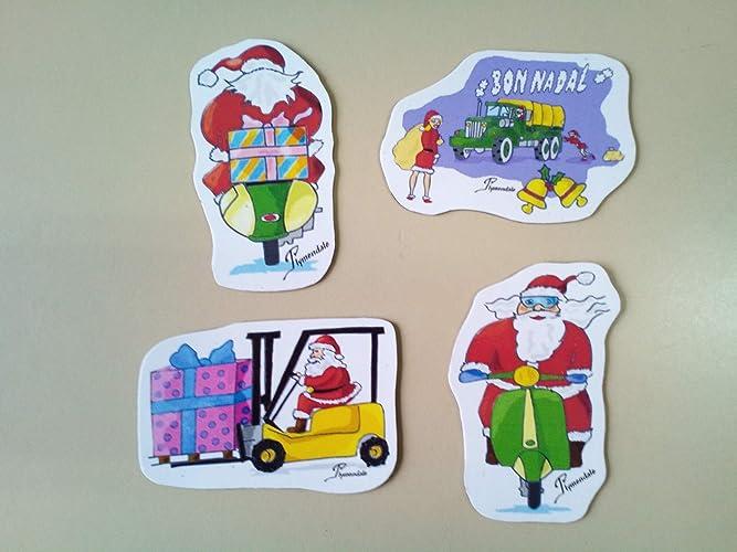 Imanes decorativos con moticos navideños para frigoríficos ...