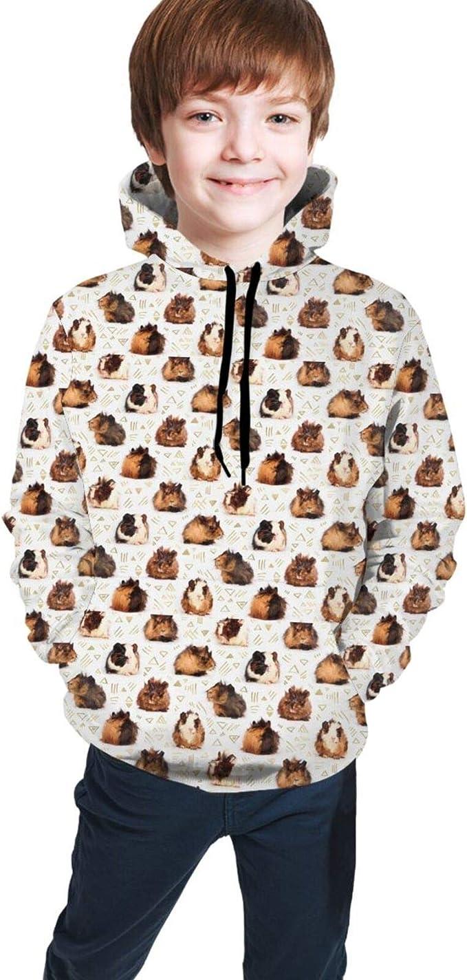 Guinea Pig Pocket Kid/'s T-Shirt Children Boys Girls Unisex Top