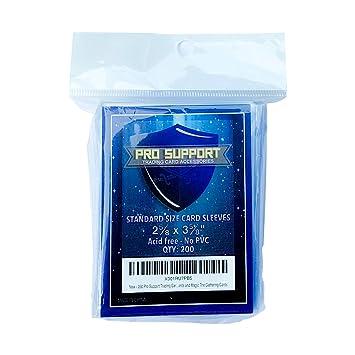 Amazon.com: Pro Support - 200 fundas para tarjetas de ...