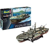 Revell-Patrol Torpedo Boat PT-588/PT-57, Escala 1:72 Kit de Modelos de plástico, Multicolor, 1/72 05165 5165
