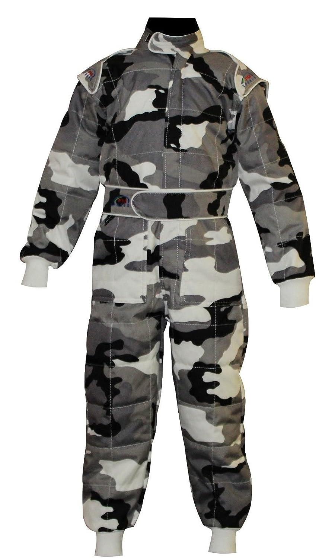 Cordura niños/Junior doble capa cik-fia nivel 2aprobado Karting/Racing Suit PM Sport