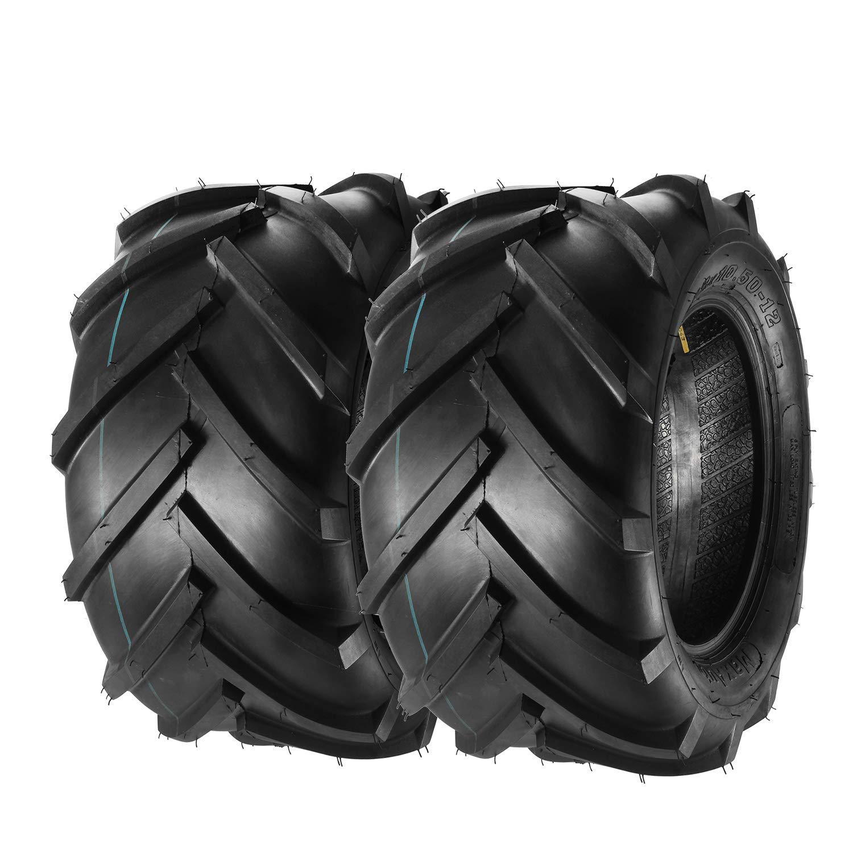 MaxAuto Set of 2 Lawn & Garden Tires - 23x10.50-12 23/10.50-12 6ply Load Range C