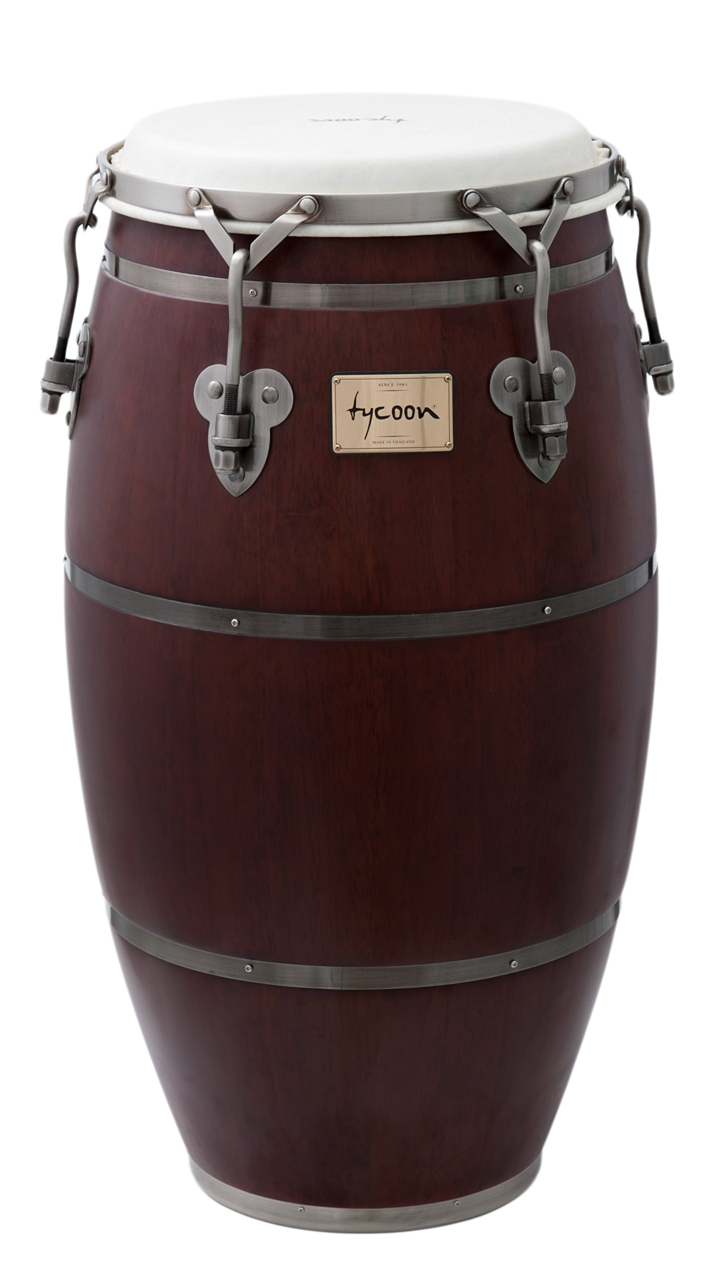 Tycoon Percussion 11 Inch Signature Heritage Series Quinto With Single Stand