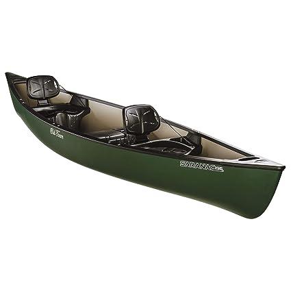 Old Town Saranac 146 Recreational Family Canoe, Green, 14 Feet 6 Inches
