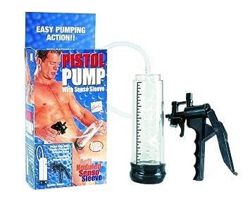 Penis pump action