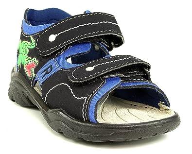 RICOSTA Surf Sandale blau See Regatta Krokodil Jungen