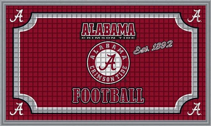 FANMATS 19975 Team Color 18 x 30 Crumb Rubber University of Alabama Door Mat